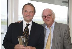 Modtageren af Ellehammerpokalen 2008 Niels Egelund, professor ved DPU, Aarhus